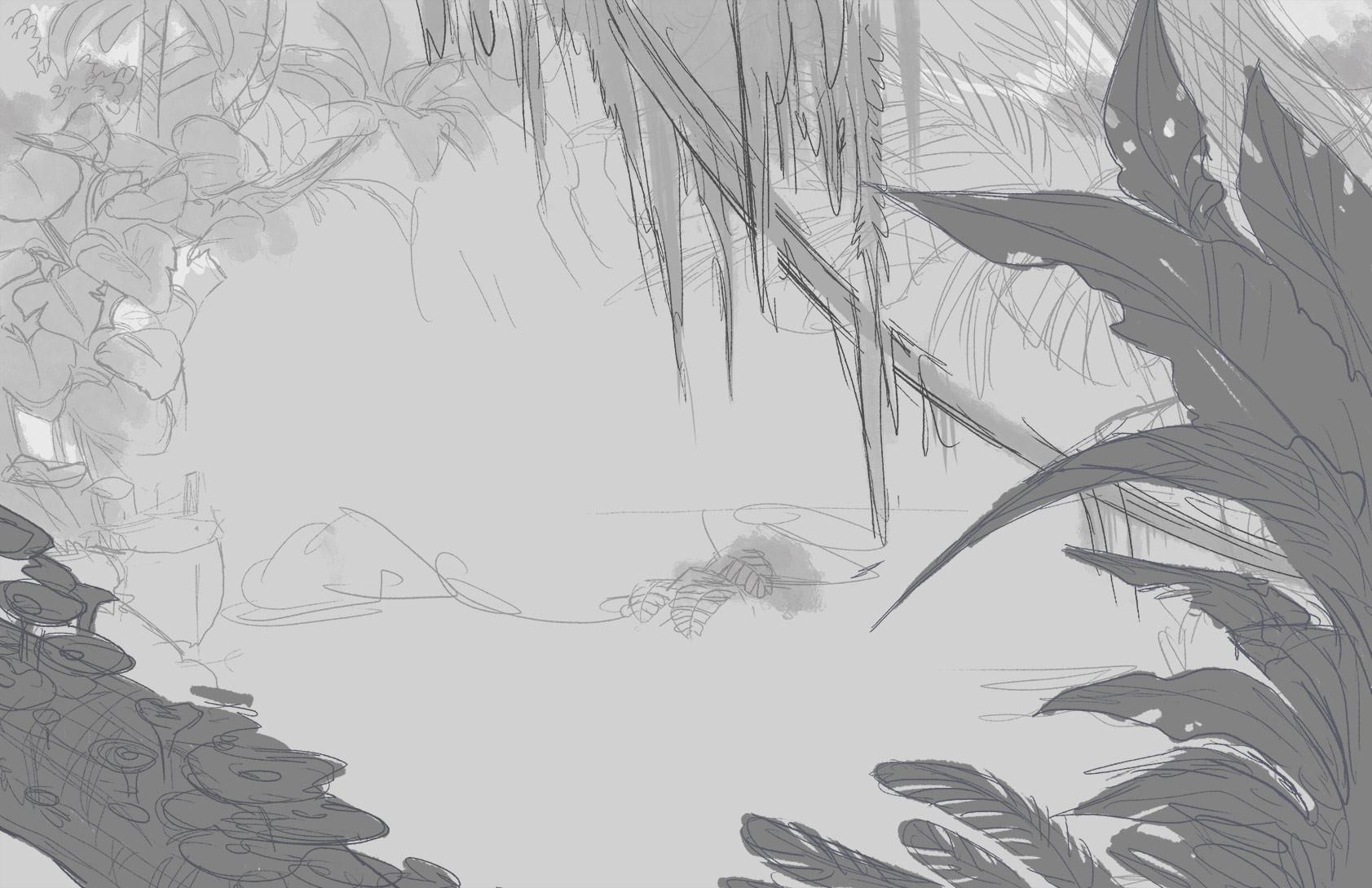 Maricela ugarte pena liasgarden sketch1