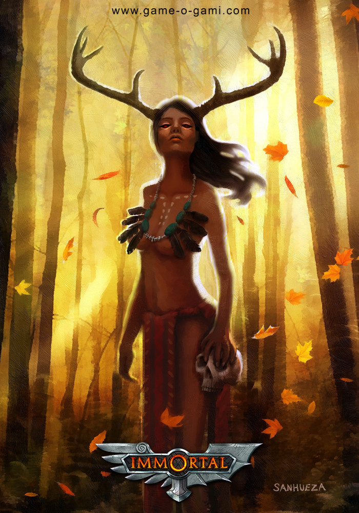 David sanhueza game o gami immortal deerwoman1