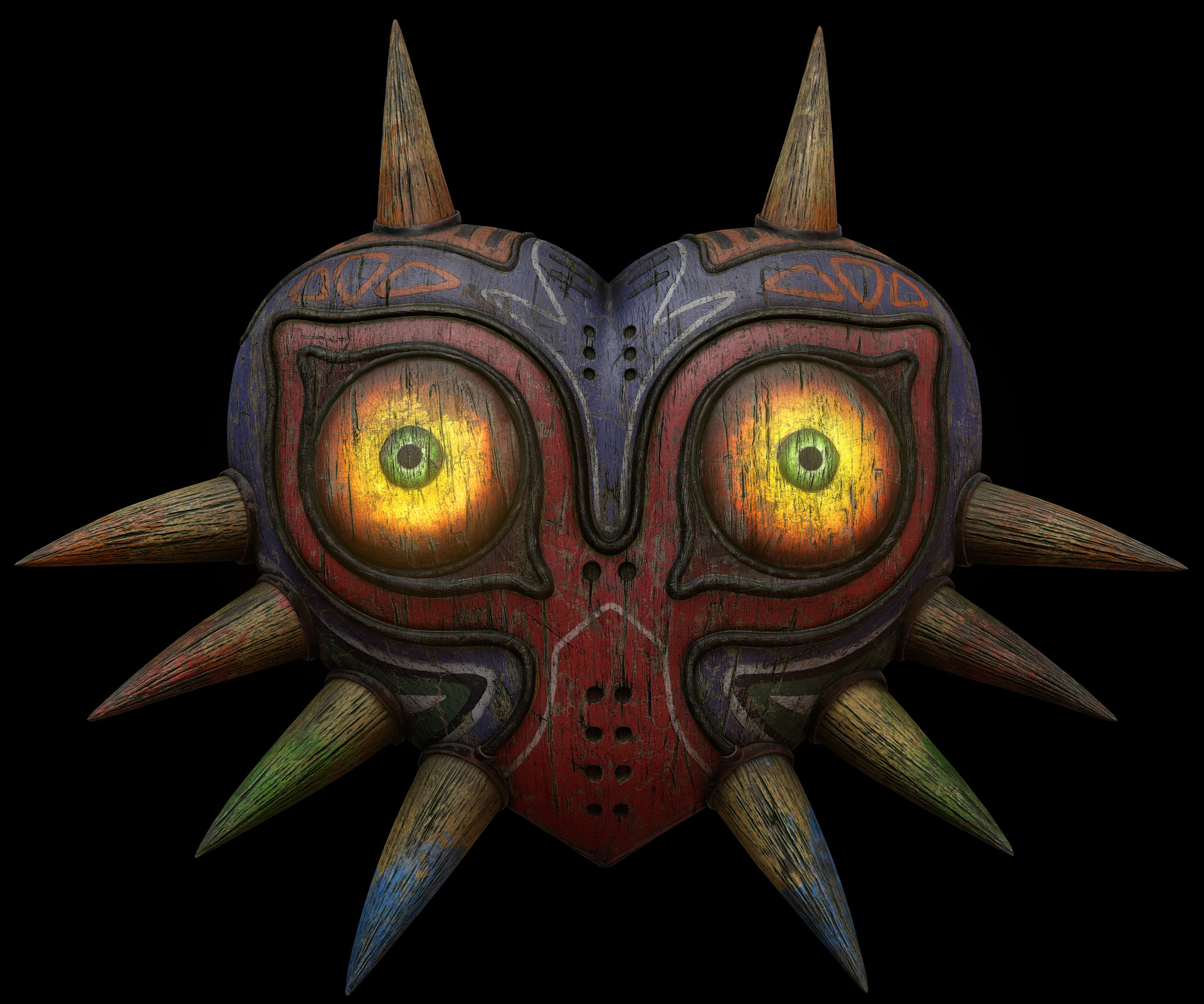 Cordell felix cordellfelix mask remastered front 3do