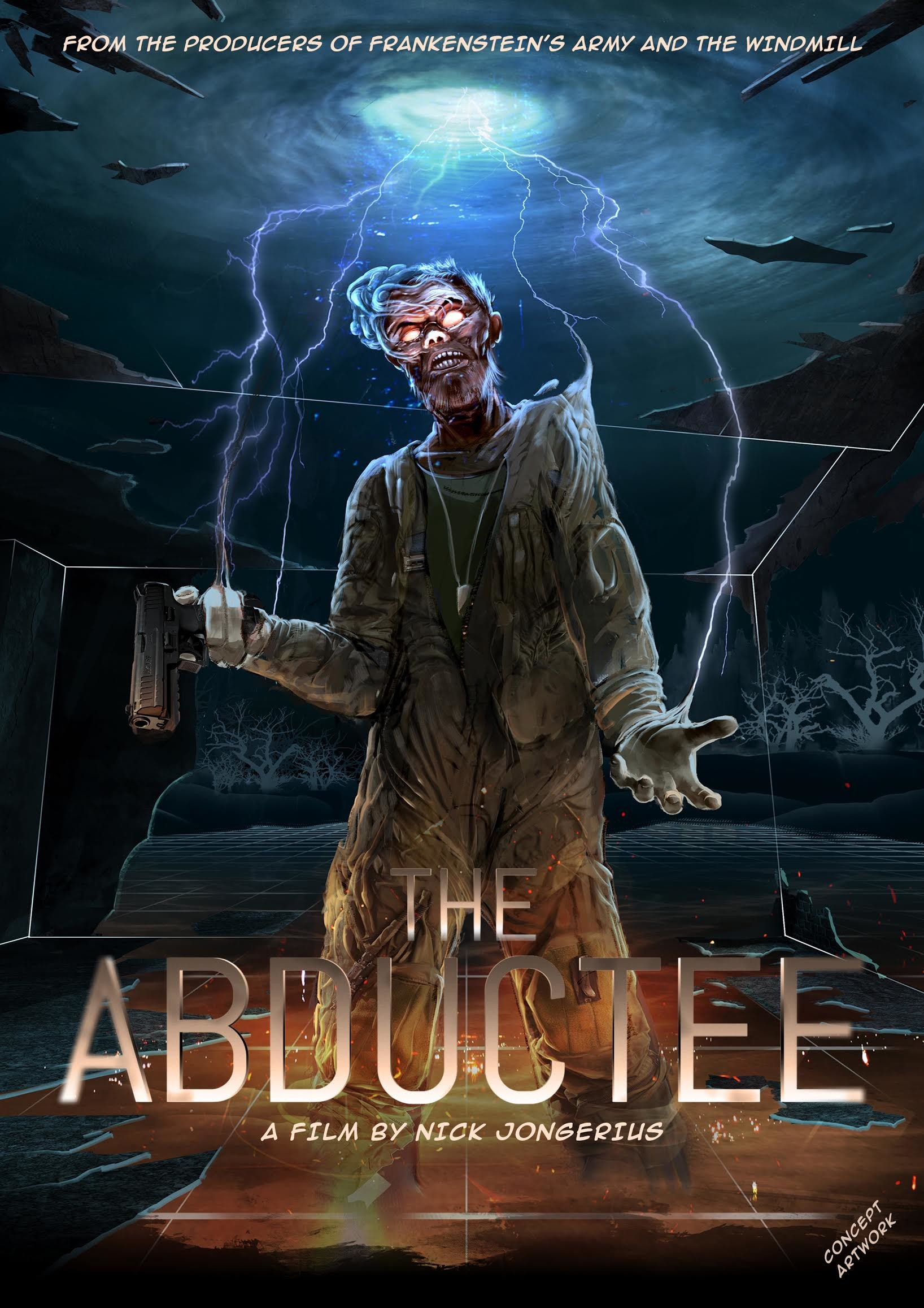 The Abductee Concept art