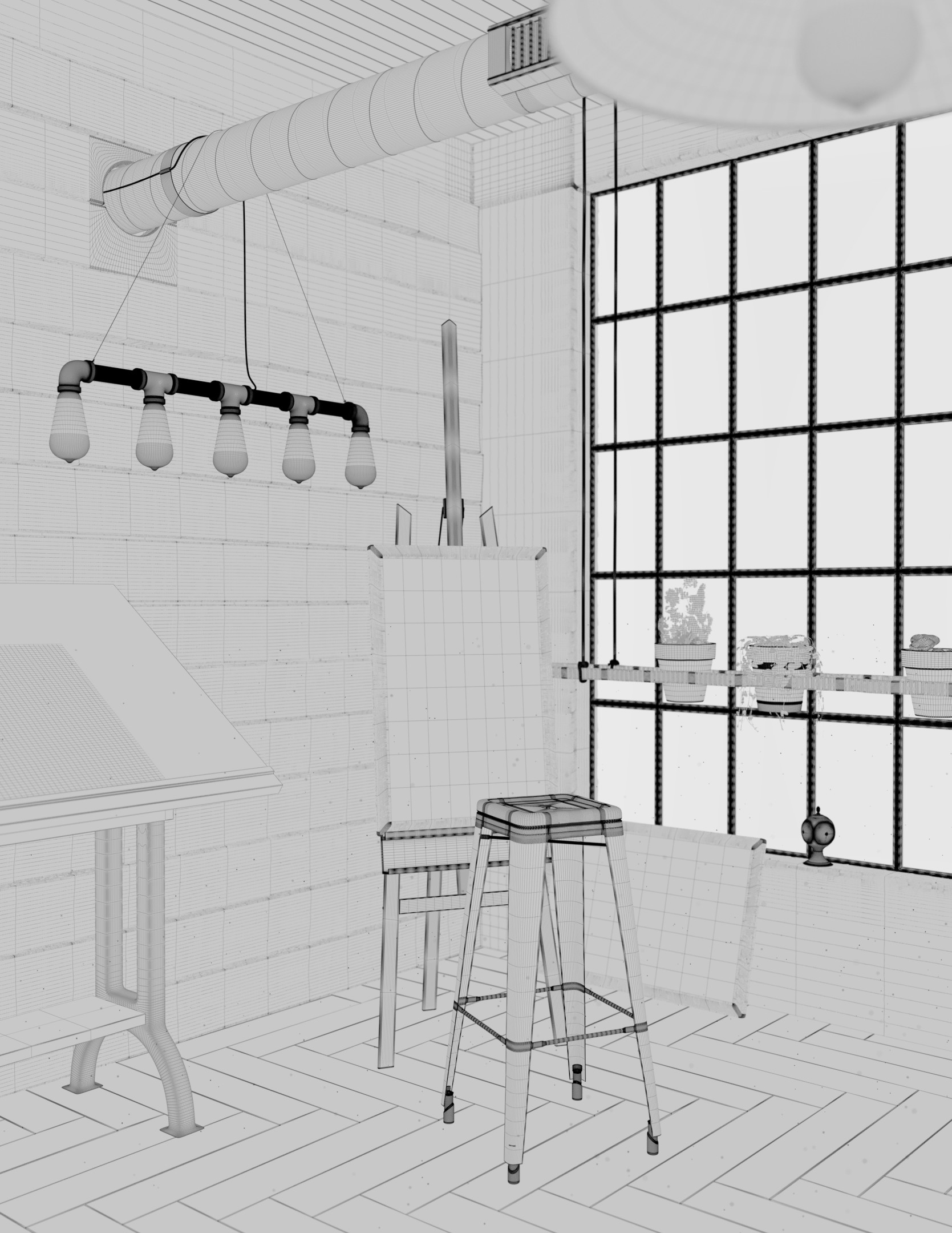 An phung anphung interior wireframe