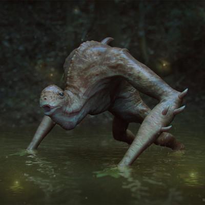 Ste flack swamp walker