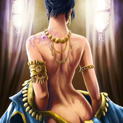 Axelle bouet pleasure slave 1100