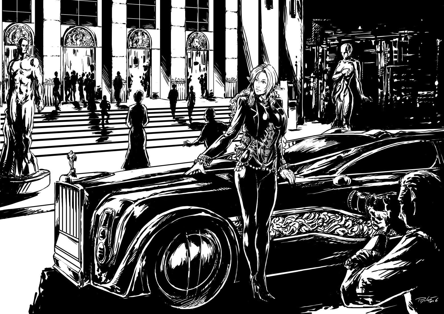 Axelle bouet limousine 1500
