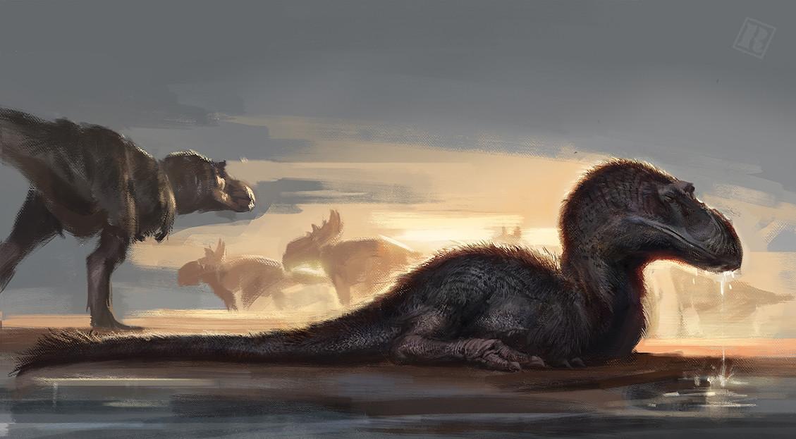 Raph lomotan raph04art gorgosaurus