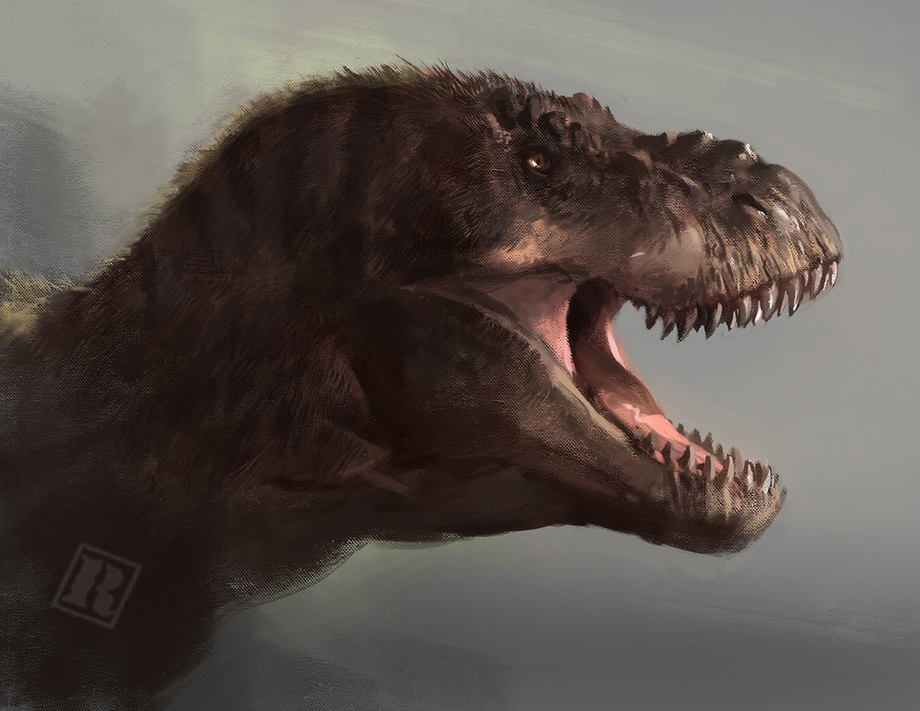 Raph lomotan raph04art jpfeathered rexy