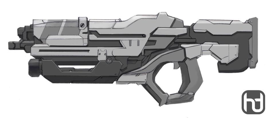 Aaron sturgeon rifle concept