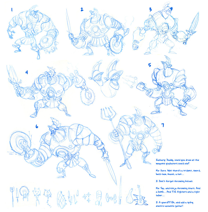 Michael dashow gladiator robot 02