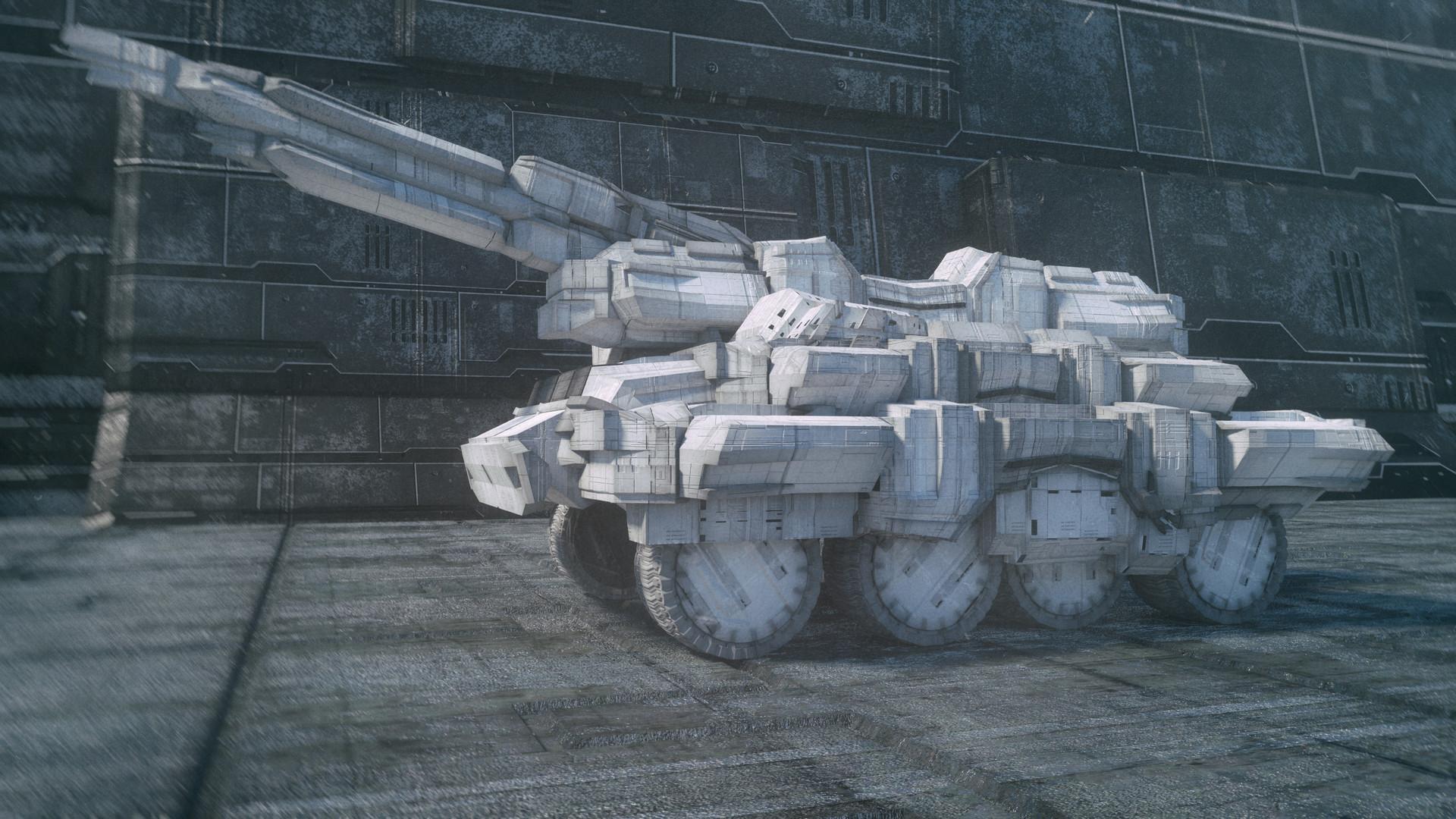 Kresimir jelusic robob3ar 407 231116 crs 23 scifi truck ps