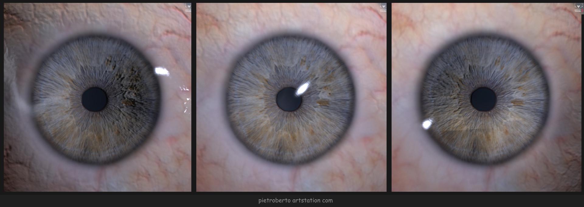 Pietro berto eye