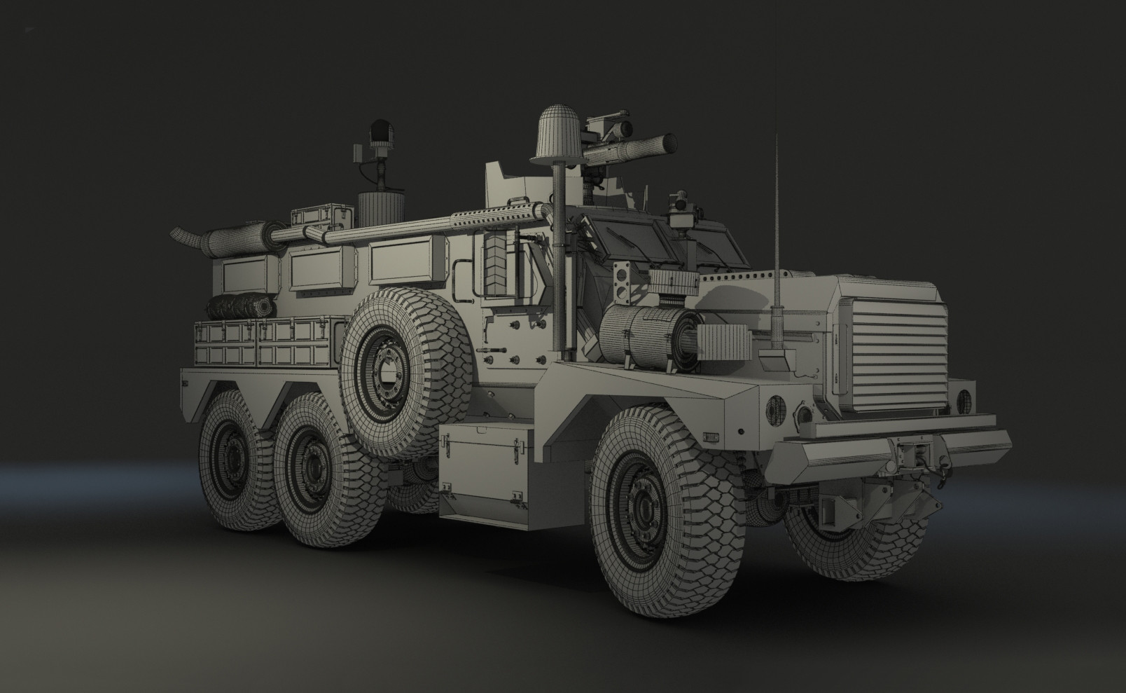 Ben harrison armored vehicle06 wire
