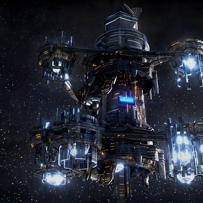Kresimir jelusic robob3ar 421 071216 space station 7b ps