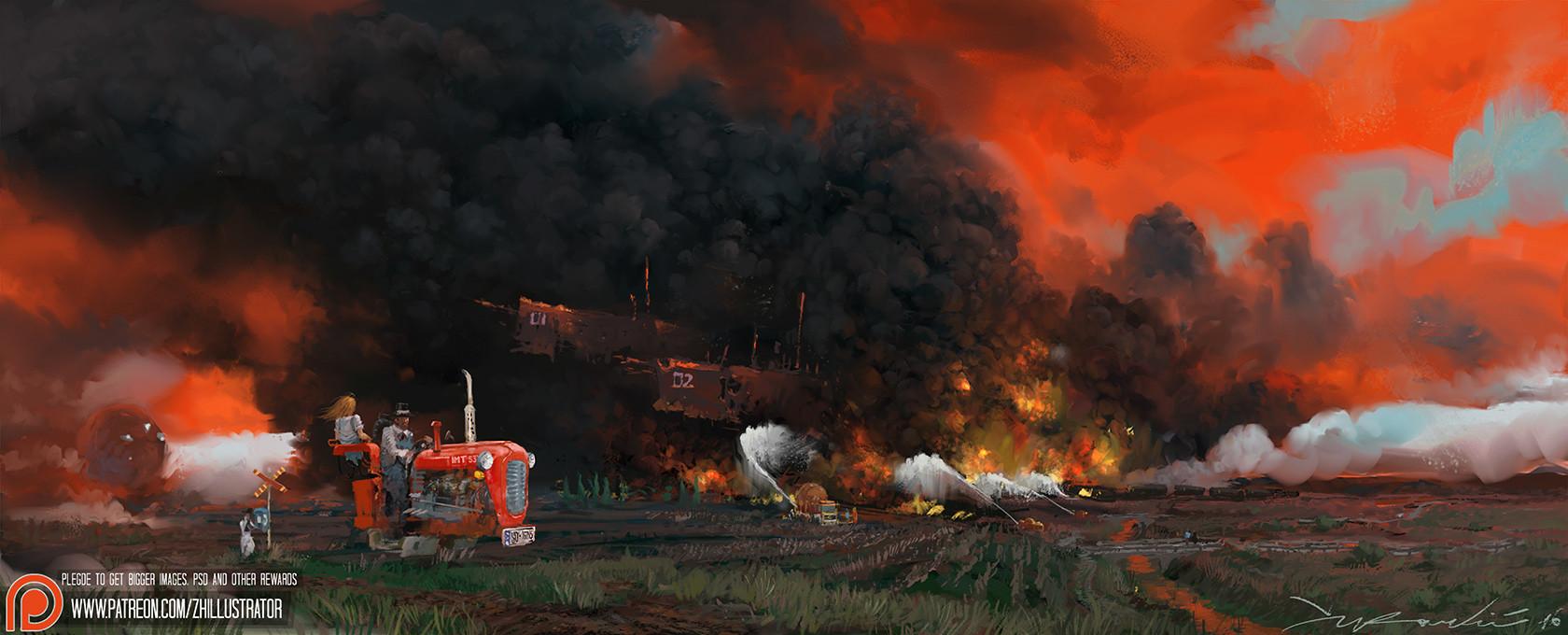Zivko kondic burning the fields rev 01 1680