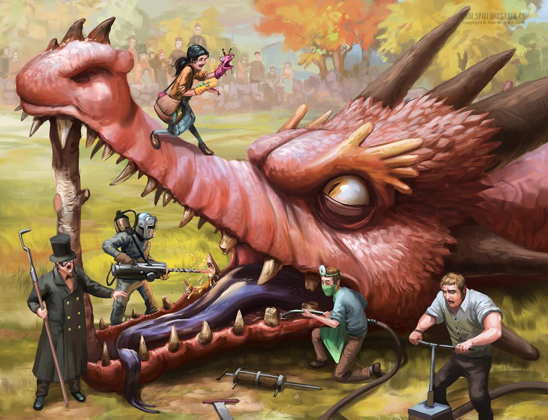 Tom mcgrath the dragon dentists