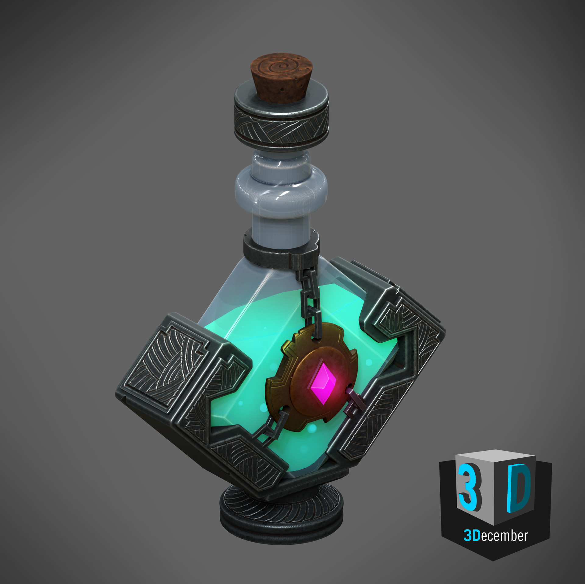 Tim kaminski potion final render