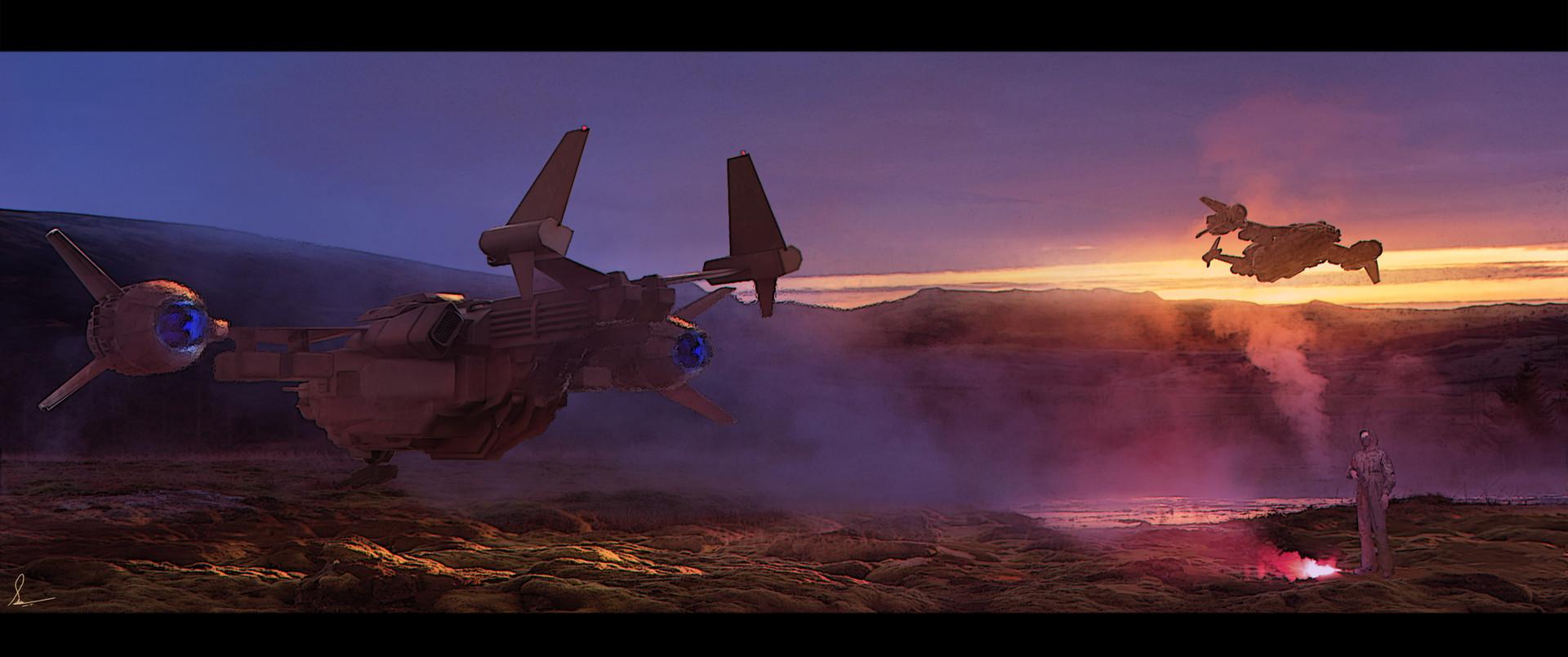 Shwetank shukla vtol landing