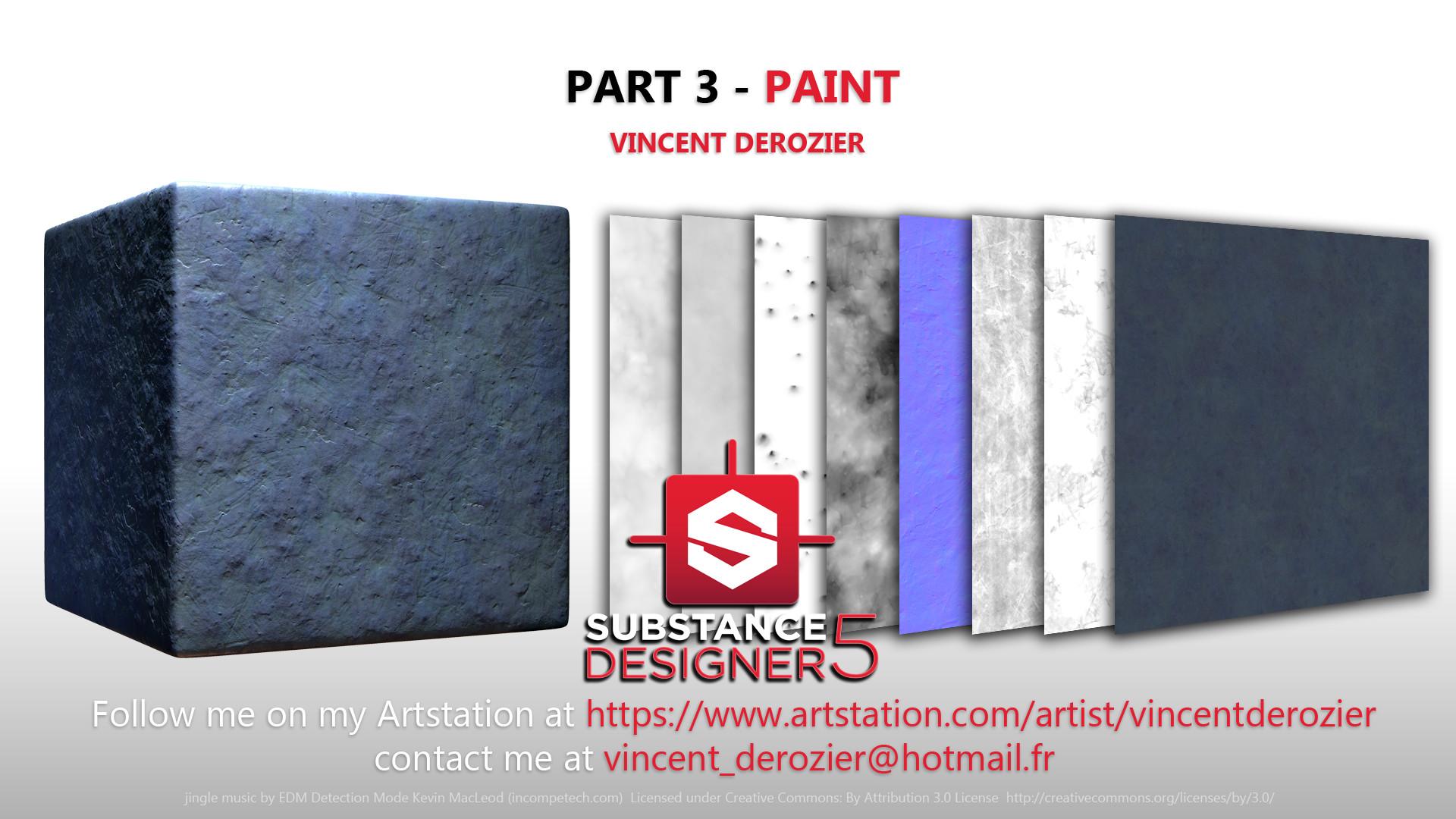 Vincent derozier part 3 paint