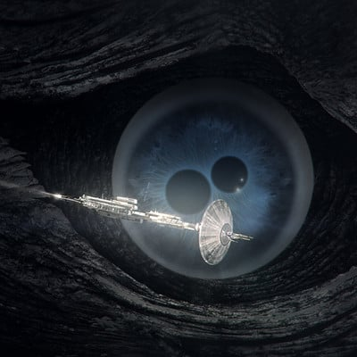 Neil blevins xeelee sequence timelike infinity the eye of the spline