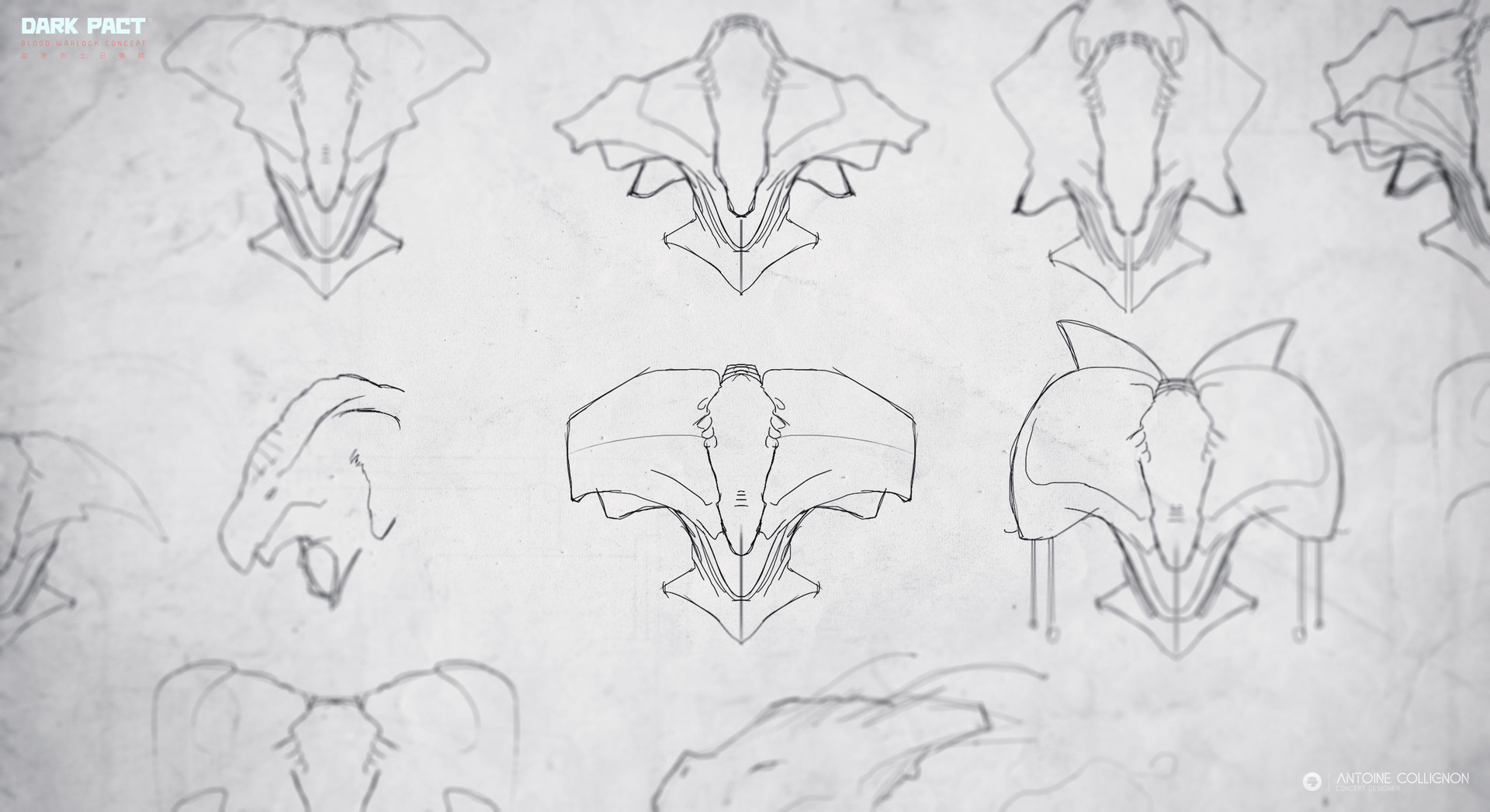 Antoine collignon dark pact characterdesign mmo bloodwarlock by antoine collignon 8
