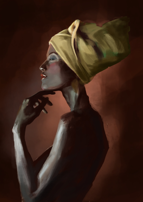 Valerie vay loetscher portrait couleur sucree