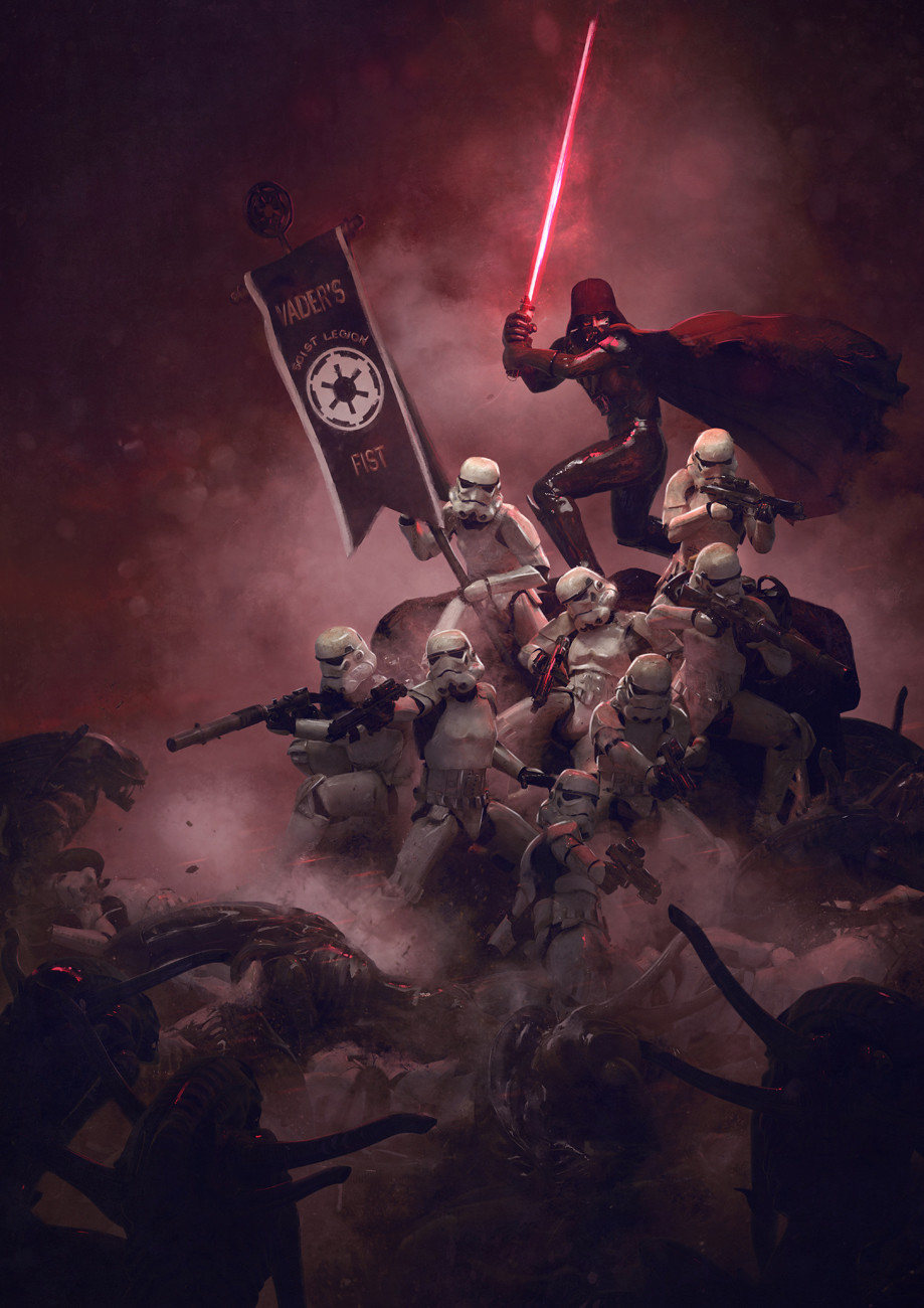 501st Legion: Vader's Fist VS Space Cockroaches  8