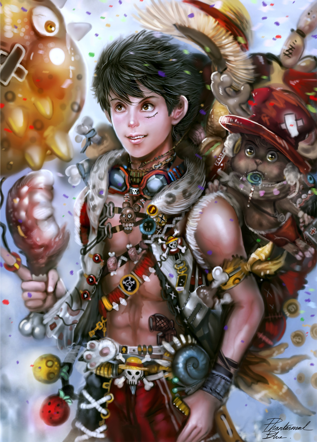 Julian tan luffy1080 by phantasmalblue dan20nb