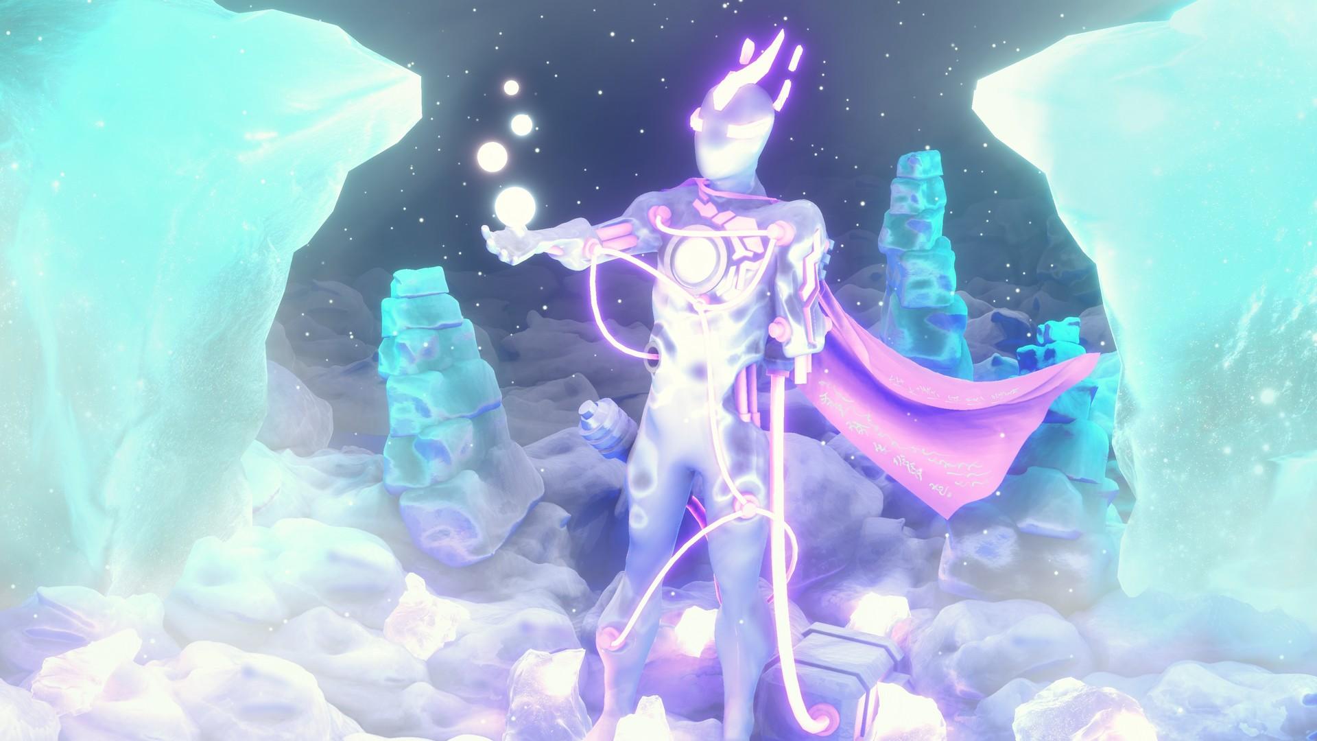 Snow Man! The all-new winter superhero.