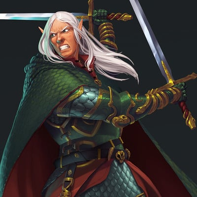 Moh z mukhtar pzo1136 demon knights 7 marilith whirlwind close up