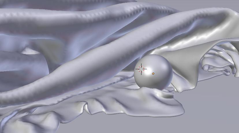 Kasia michalak glass ball on fabric obj