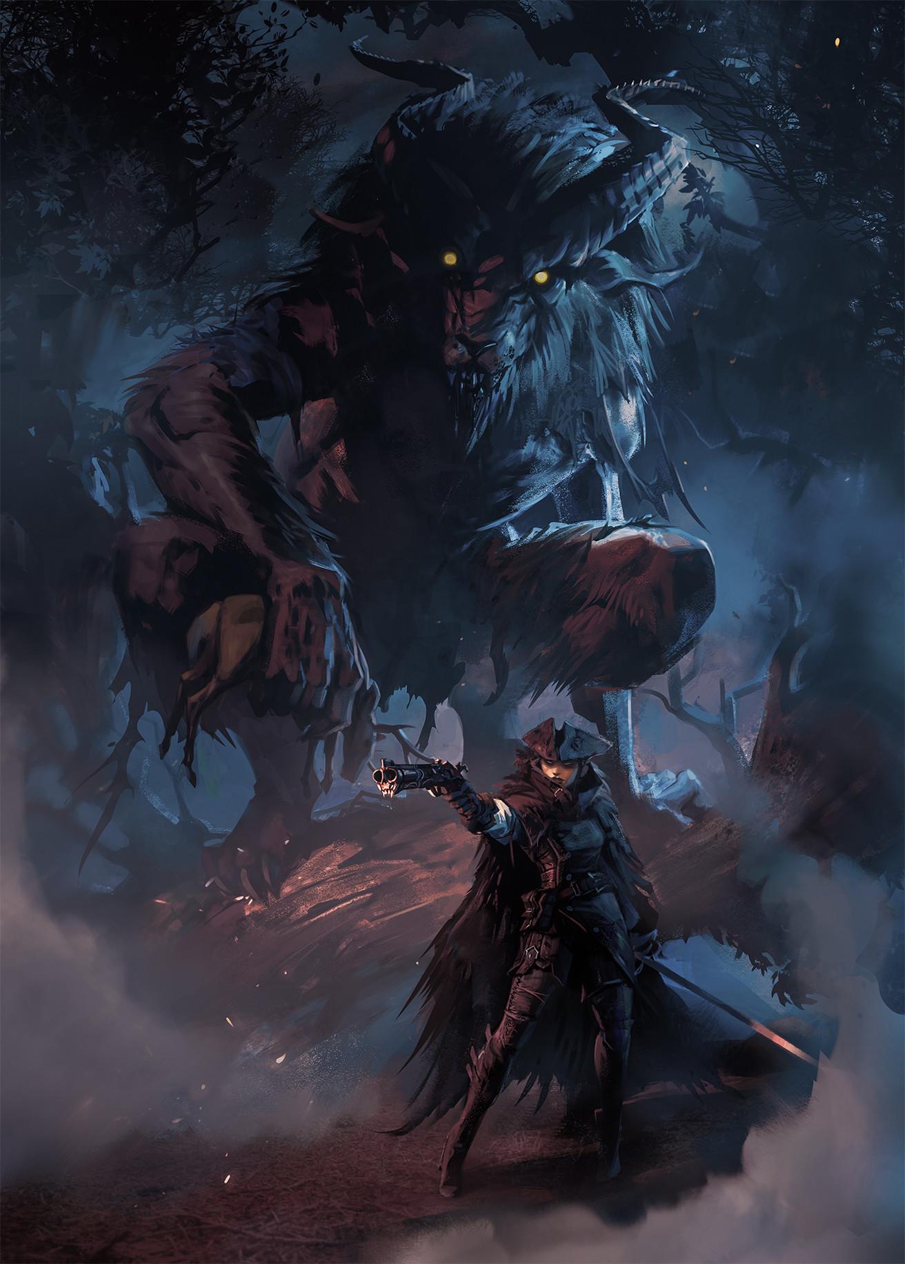 Daryl mandryk nighthunters