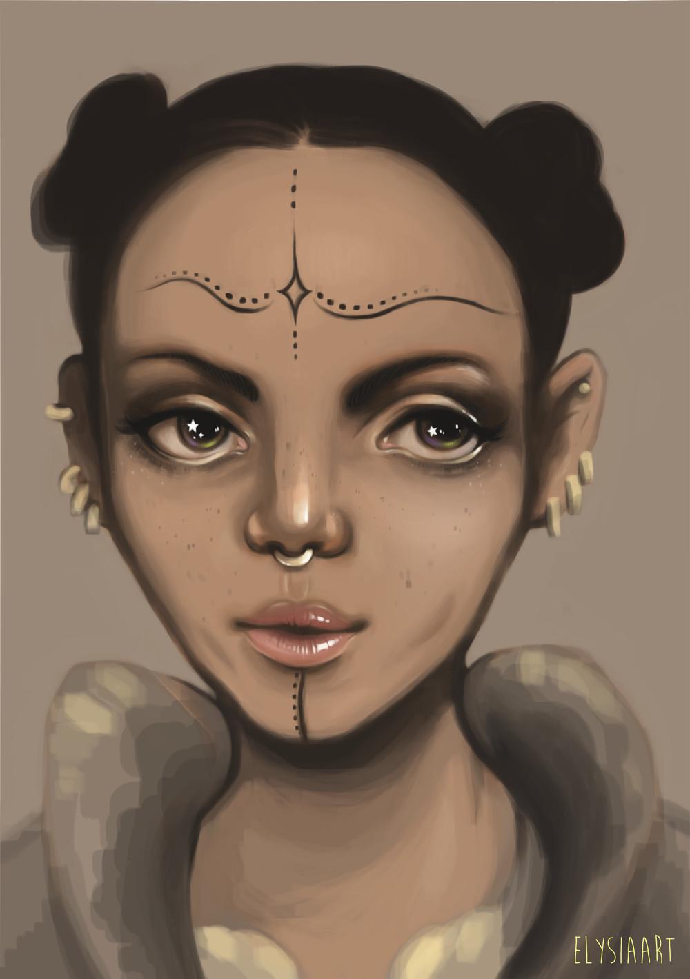 Elysia womersley painting2