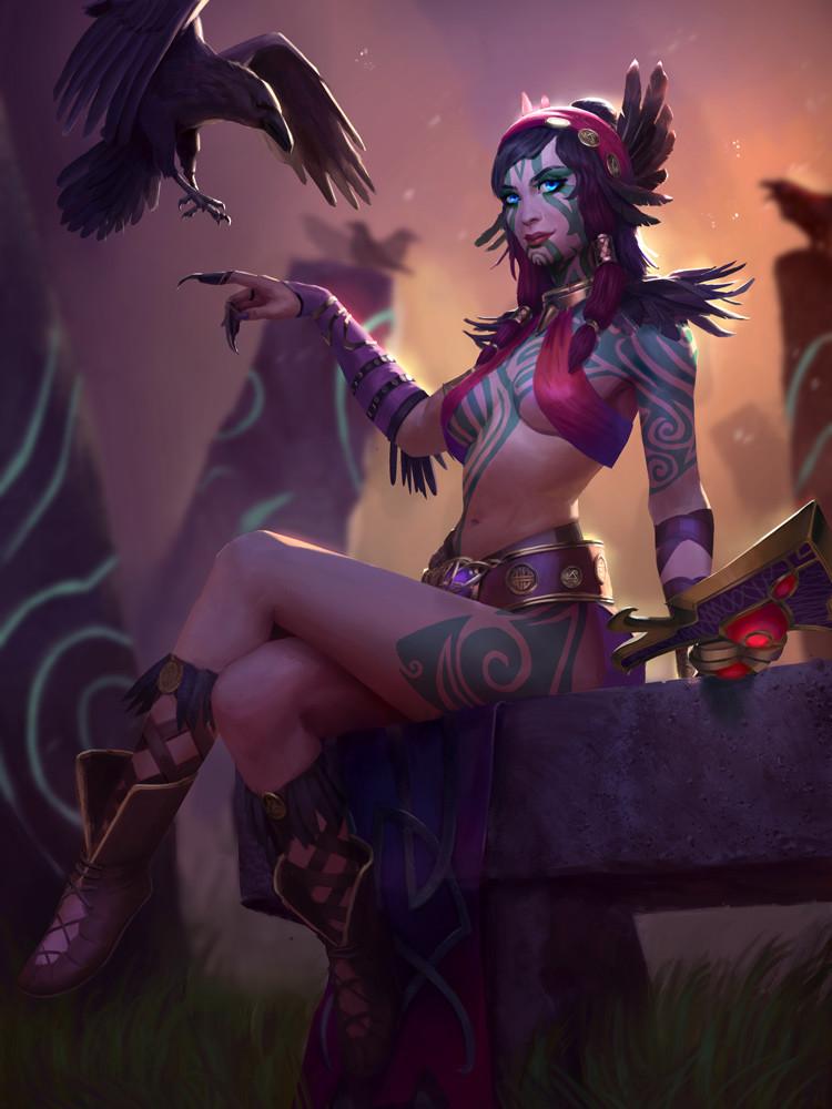 Scarlet Sorceress Morrigan