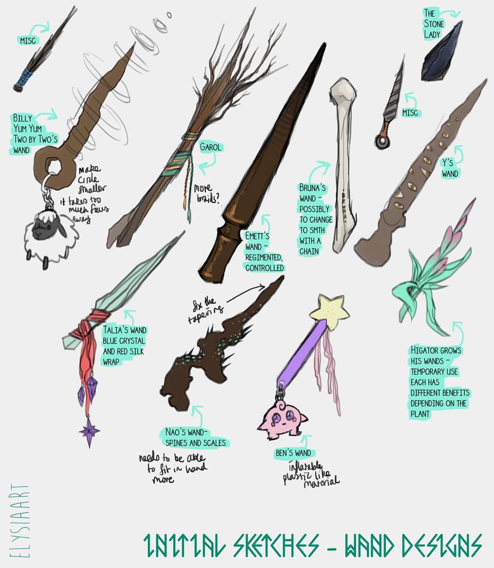 Elysia womersley wands