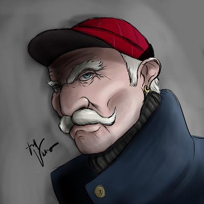 Jeff vehrs gordon lightfoot portrait