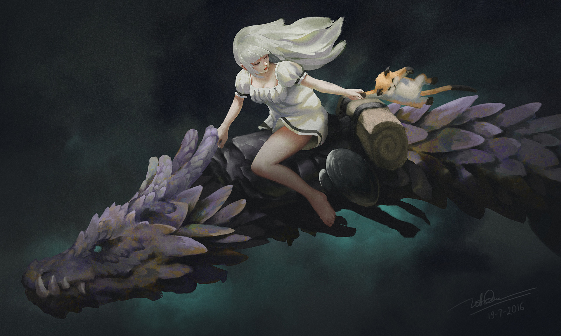 Dao le trong girl dragon 2