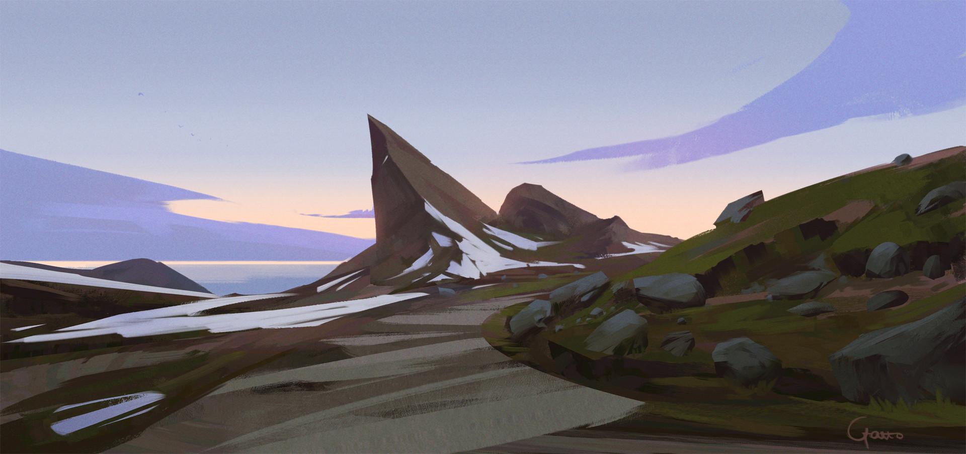 Roberto gatto landscape sketchy