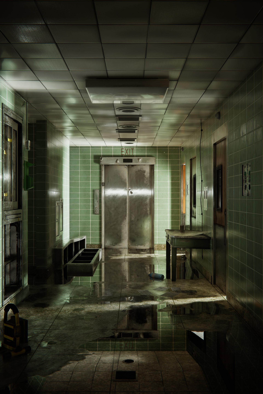 Abandoned Hospital [Unity 5]