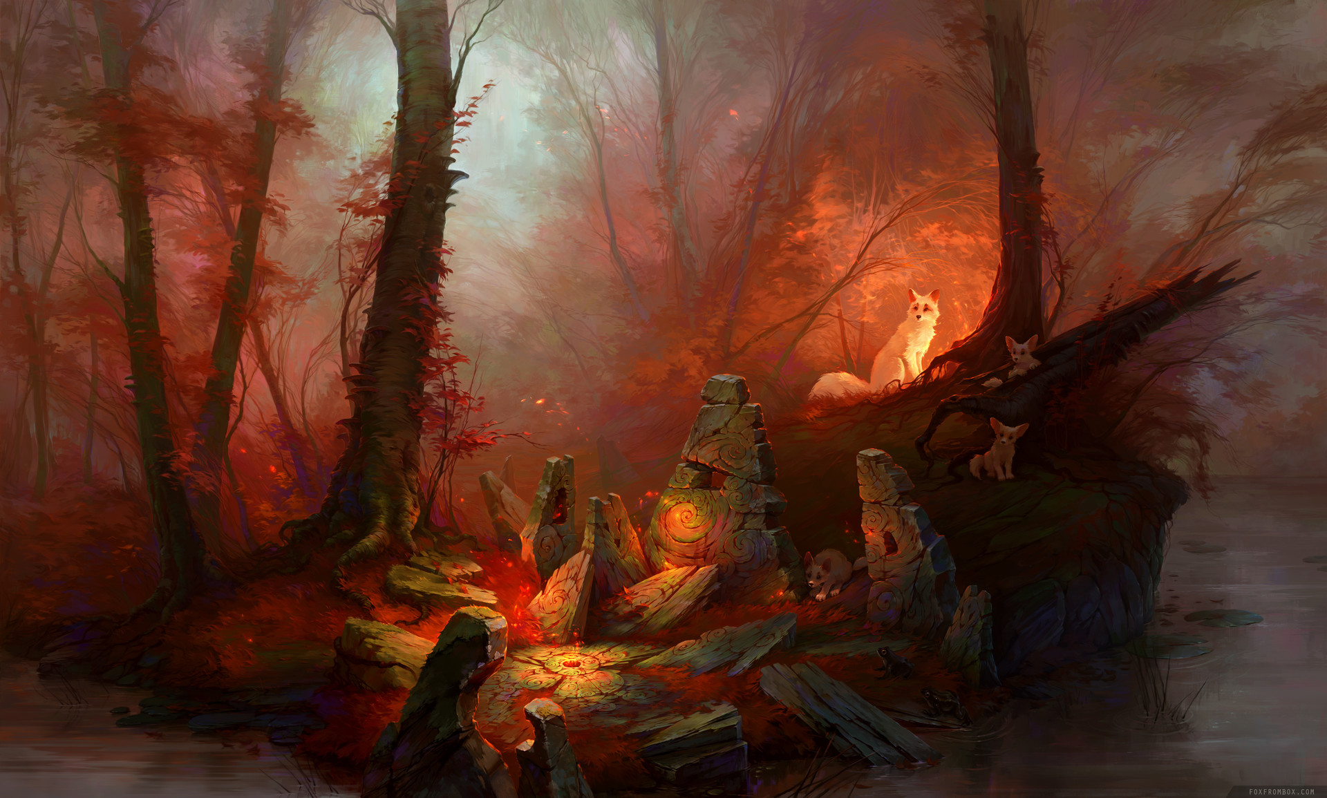 Alina ivanchenko red magic forest final small