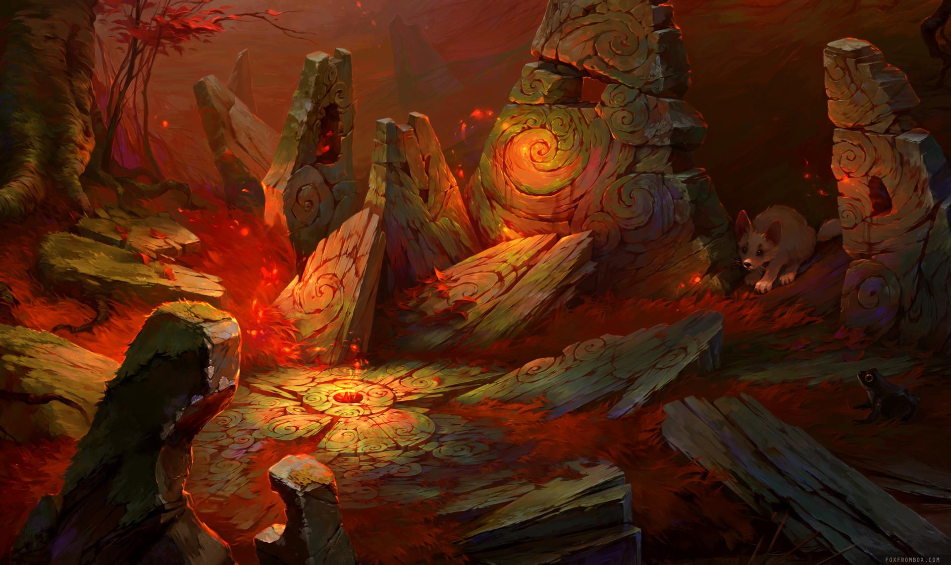 Alina ivanchenko red magic forest 100p 01