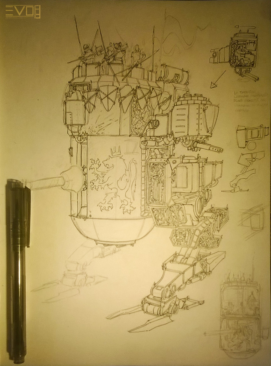 F f erranttower sketch