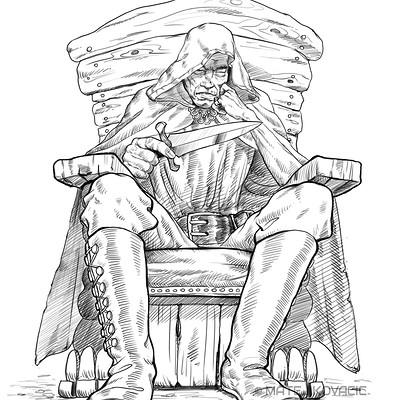 Matej kovacic old assassin meditating by matej kovacic