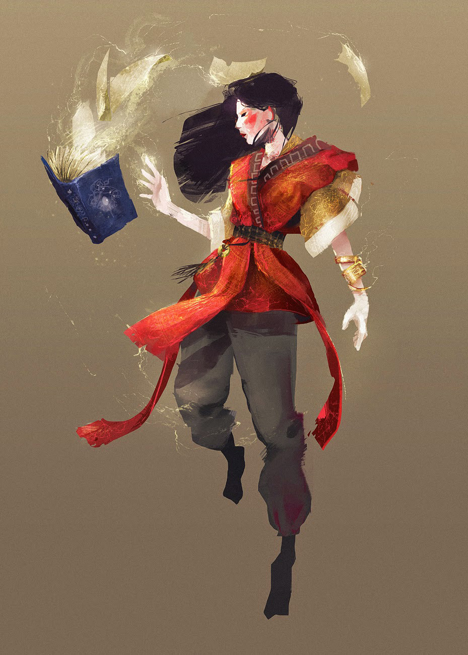 Lucas prince charadesign witchwizard