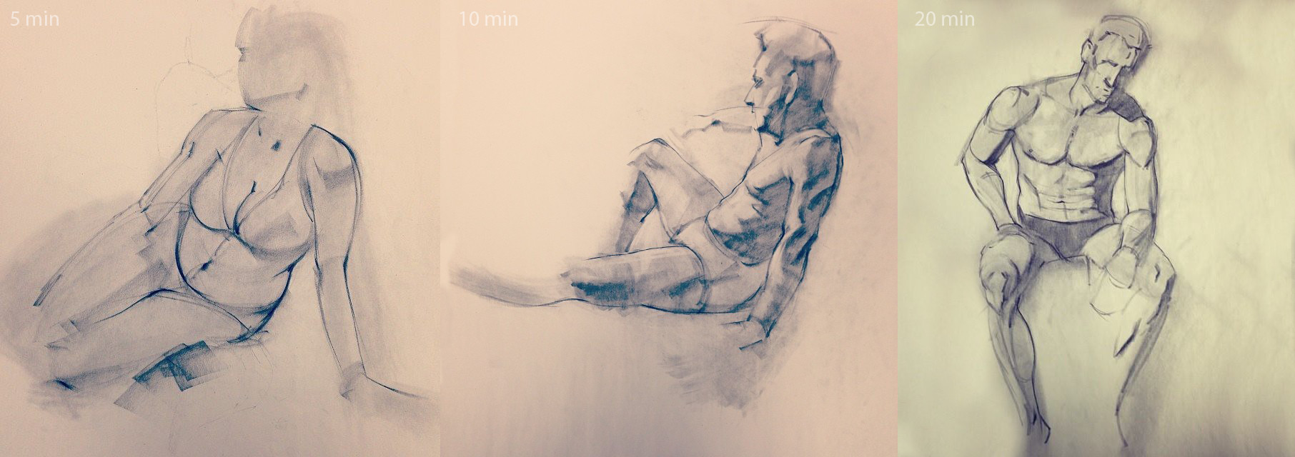 Austin balaich gesture drawings