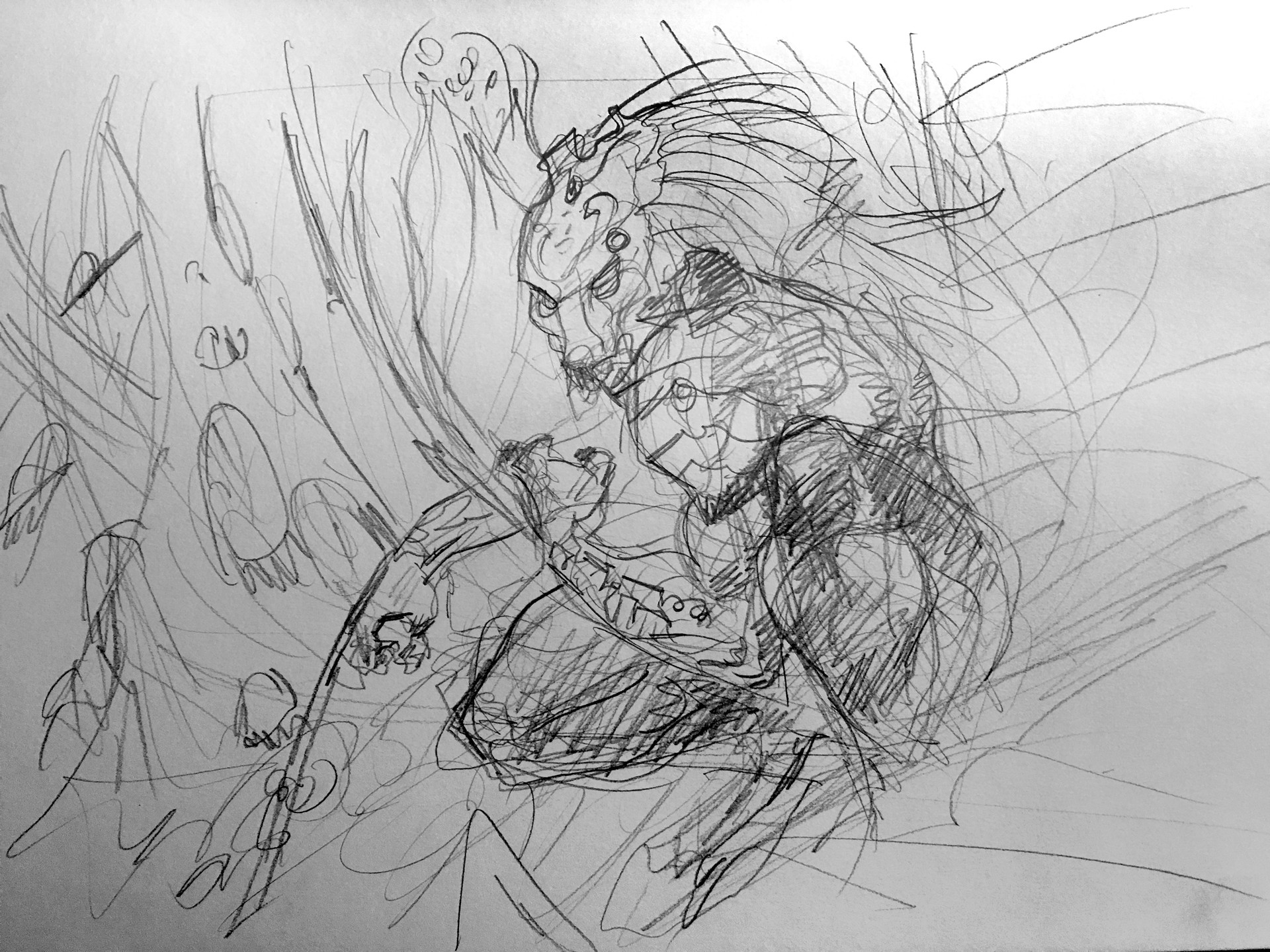 Daniele afferni daniele afferni artist predator pencil