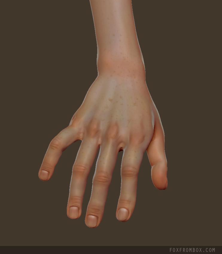 Alina ivanchenko hand