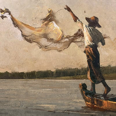 Grzegorz rutkowski fisherman 1920