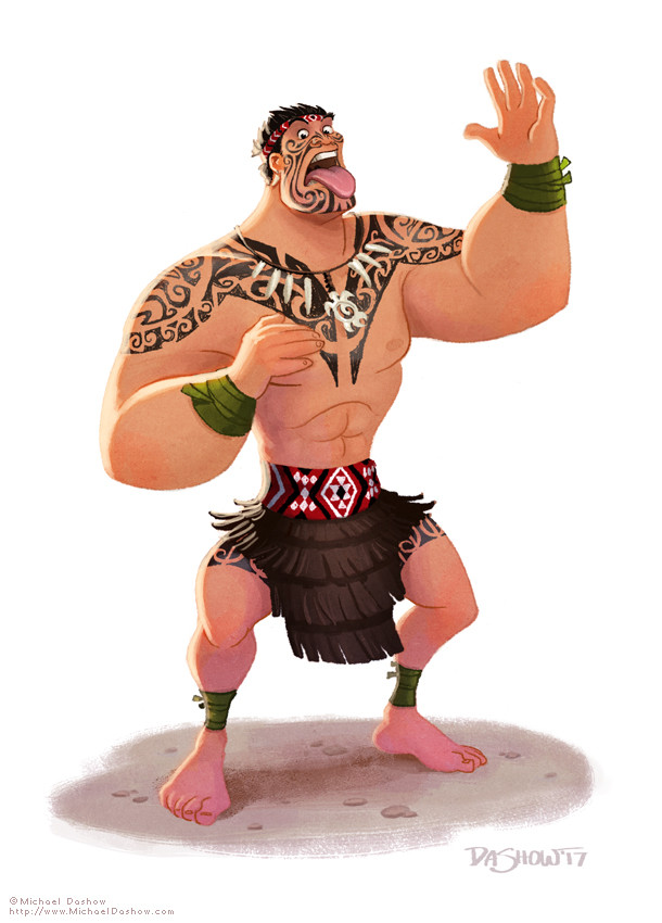 Michael dashow maori warrior 610x850