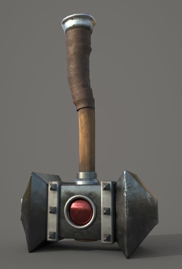 Hammer of the Beast Warrior