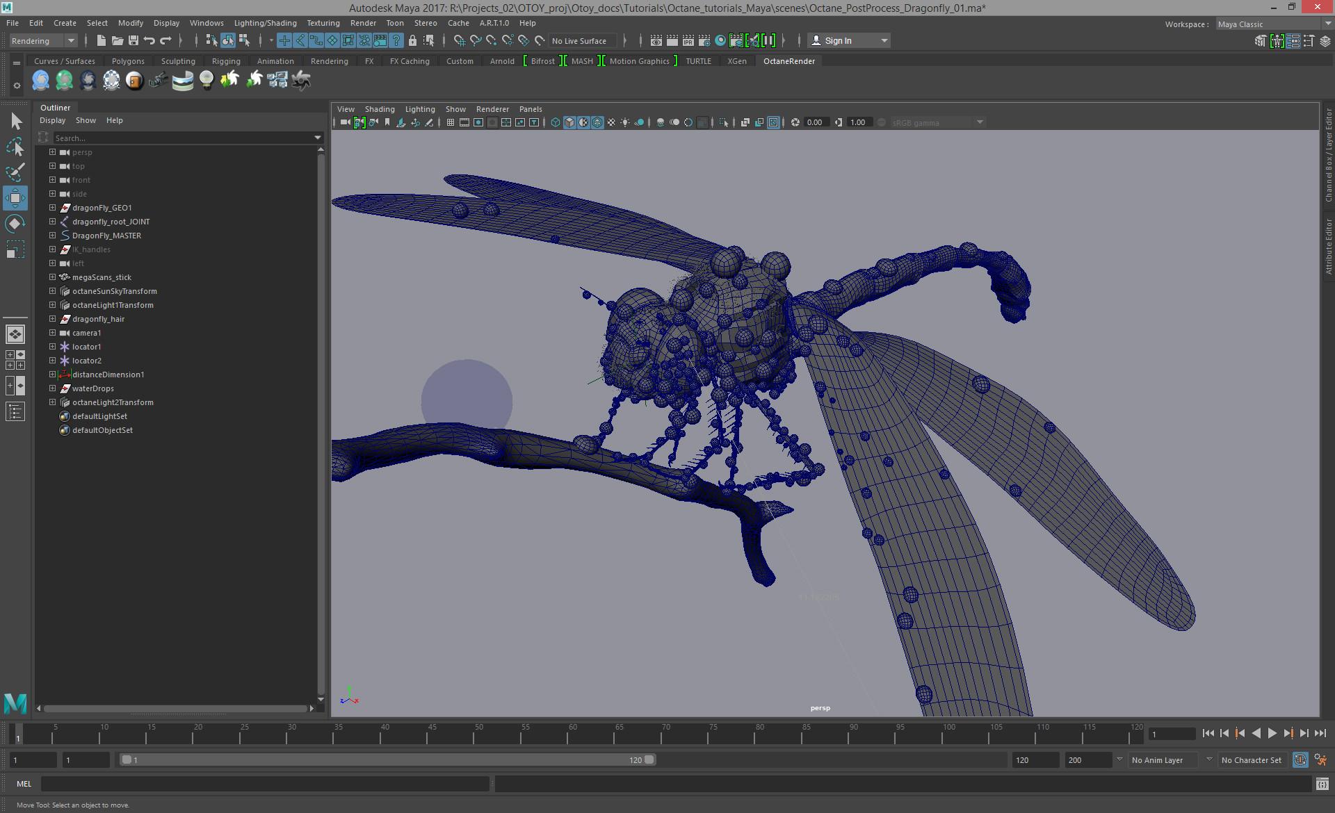 Eric keller dragonfly maya
