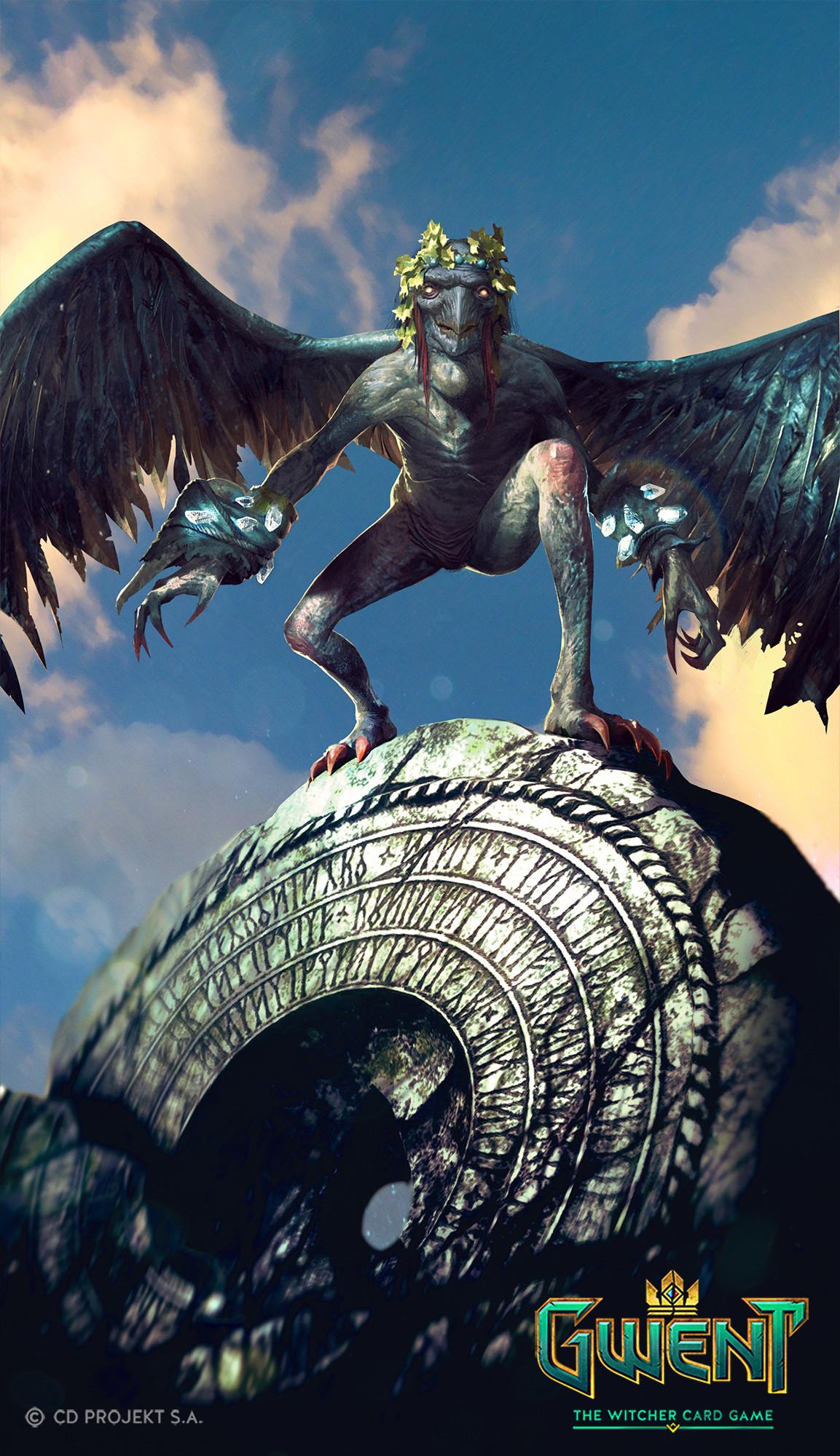 Celaeno harpy